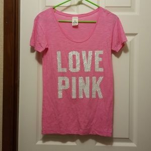 Victoria secret t-shirt w/bling